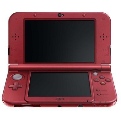 New Nintendo 3DS XL Red GameStop Premium Refurbished