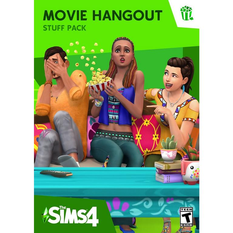 The Sims 4 Movie Hangout Stuff