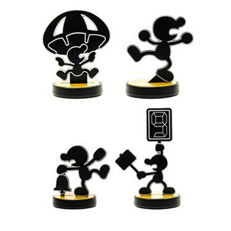 Mr Game and Watch amiibo Figure