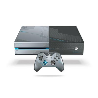 Xbox One 1TB Limited Edition Halo 5 Console (GameStop Premium Refurbished)