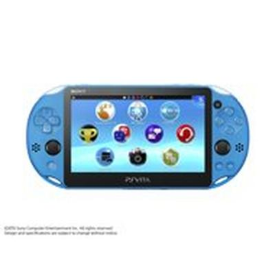 PlayStation Vita Aqua Blue (GameStop Refurbished)