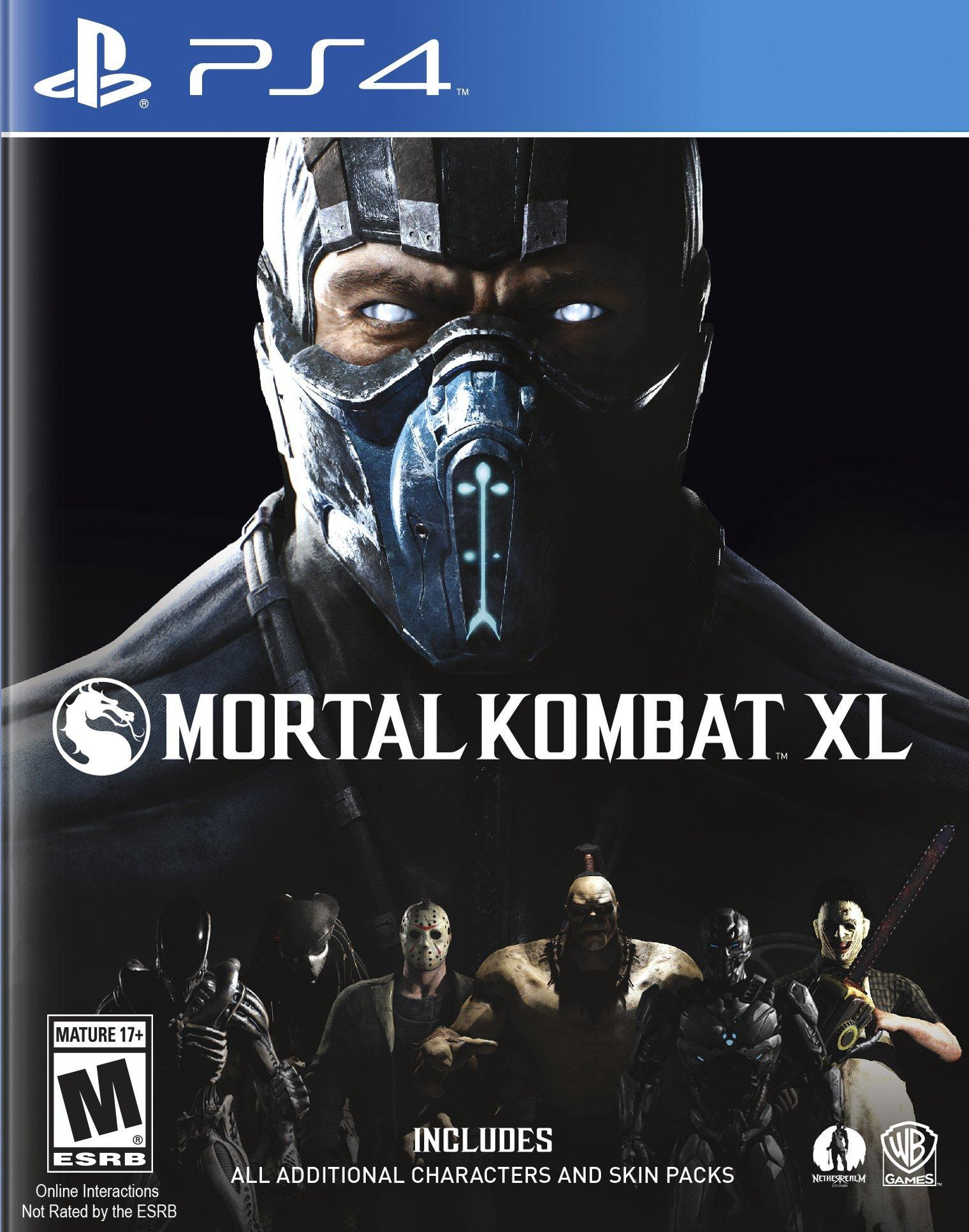 Mortal Kombat Xl Playstation 4 Gamestop
