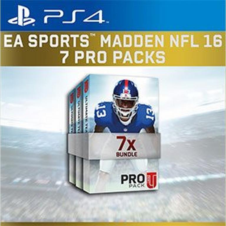 Madden NFL 16 Ultimate Team - 7 Pro Packs