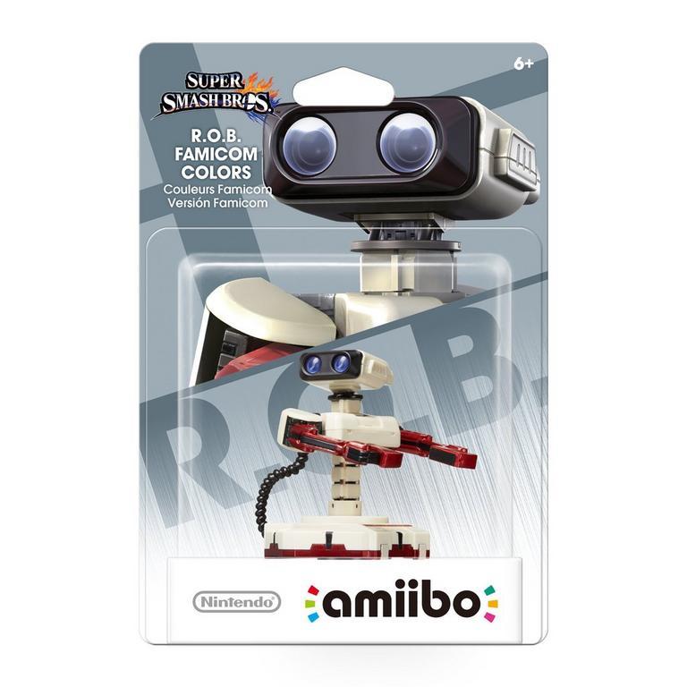 Super Smash Bros. R.O.B. Famicom Colors amiibo