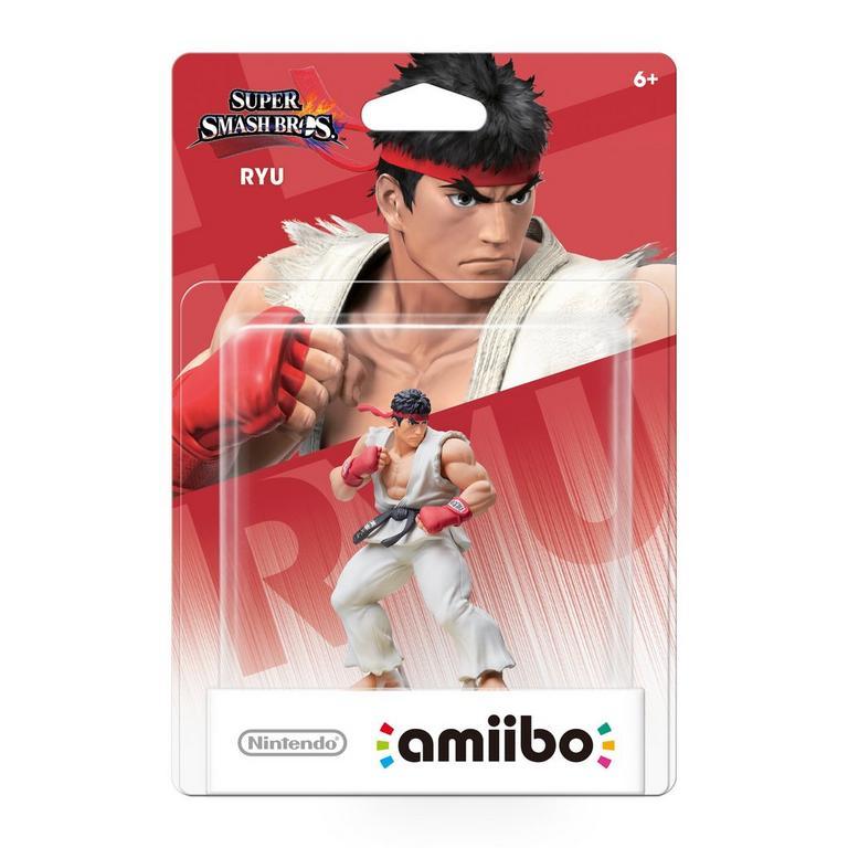 Super Smash Bros. Ryu amiibo Figure