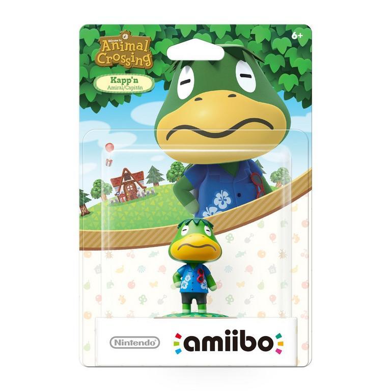 Animal Crossing Kapp'n amiibo