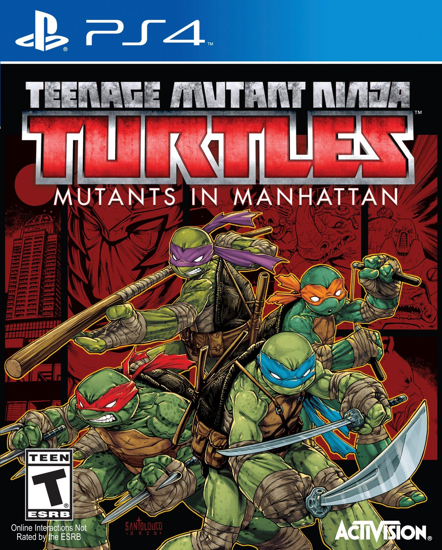 Teenage Mutant Ninja Turtles Mutants In Manhattan Playstation 4 Gamestop