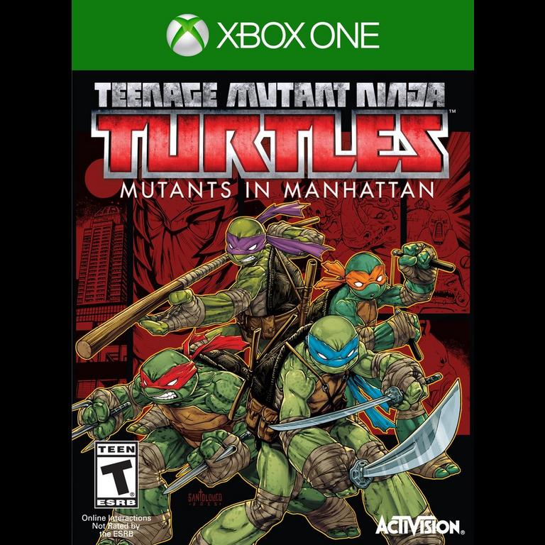 Teenage Mutant Ninja Turtles Mutants In Manhattan Xbox One Gamestop