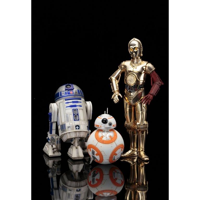 Star Wars ArtFX+ Droids Statue - BB8, R2-D2 and C-3PO