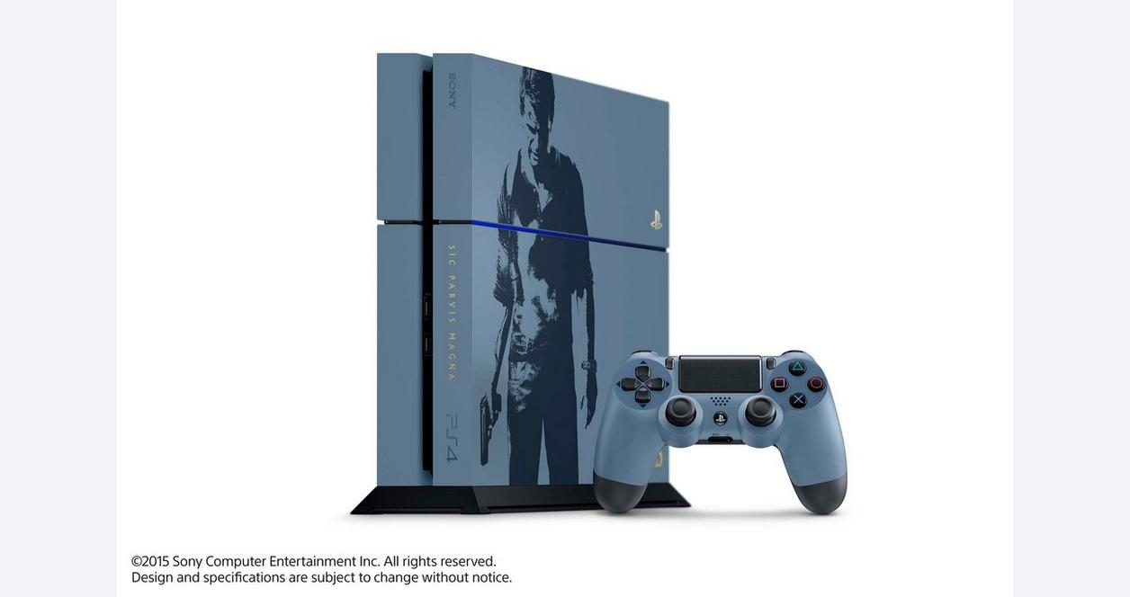 PlayStation 4 Uncharted 4: A Thief's End Limited Edition Bundle 500GB
