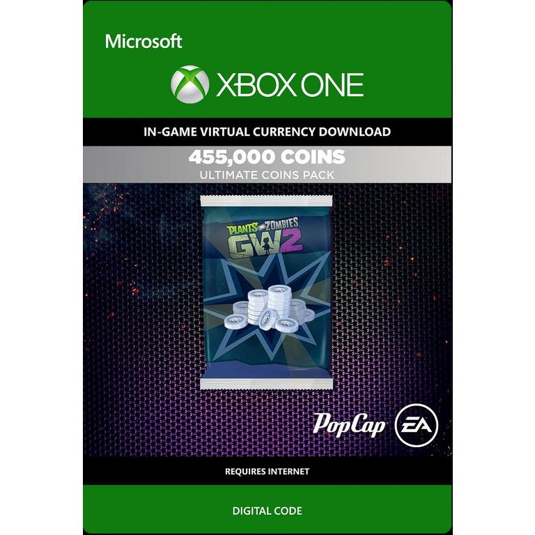 Plants vs. Zombies Garden Warfare 2 455,000 Ultimate Coins Pack