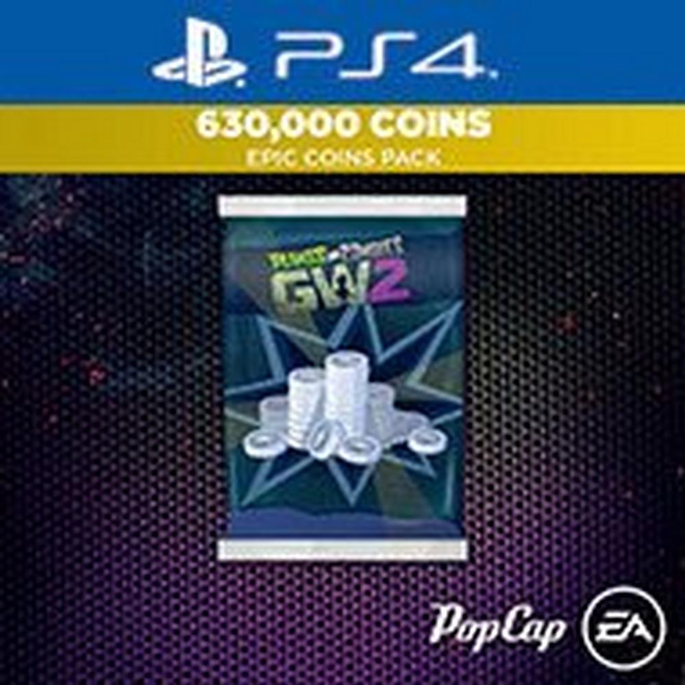 Plants vs  Zombies Garden Warfare 2 630,000 Epic Coins Pack | PlayStation 4  | GameStop