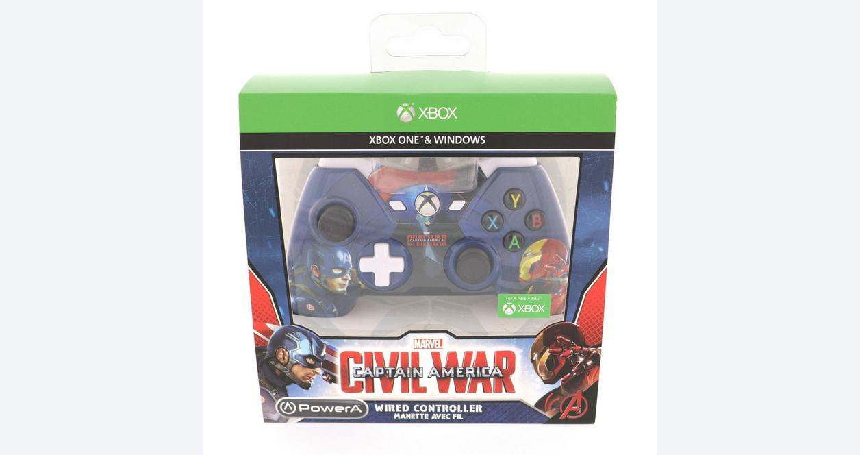 Captain America: Civil War Wired Controller for Xbox One