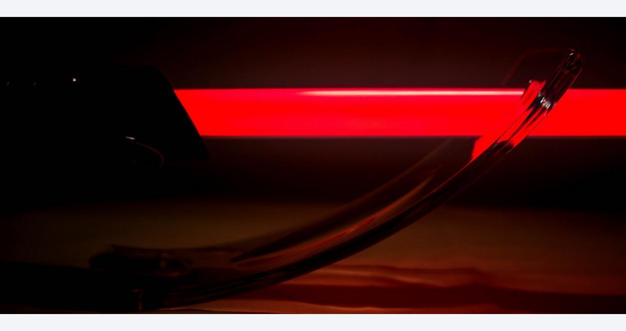 Star Wars Episode V Darth Vader Force FX Lightsaber
