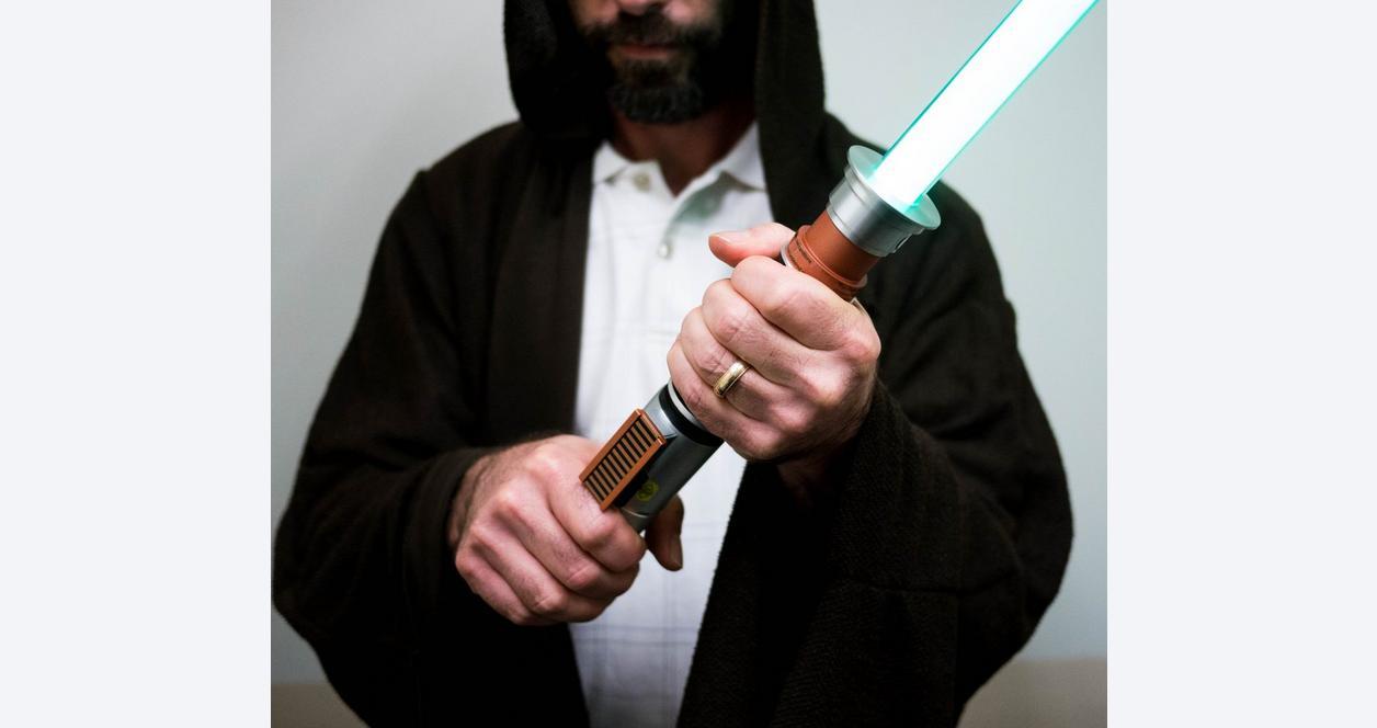 Star Wars Episode VI Luke Skywalker (Green) Force FX Lightsaber