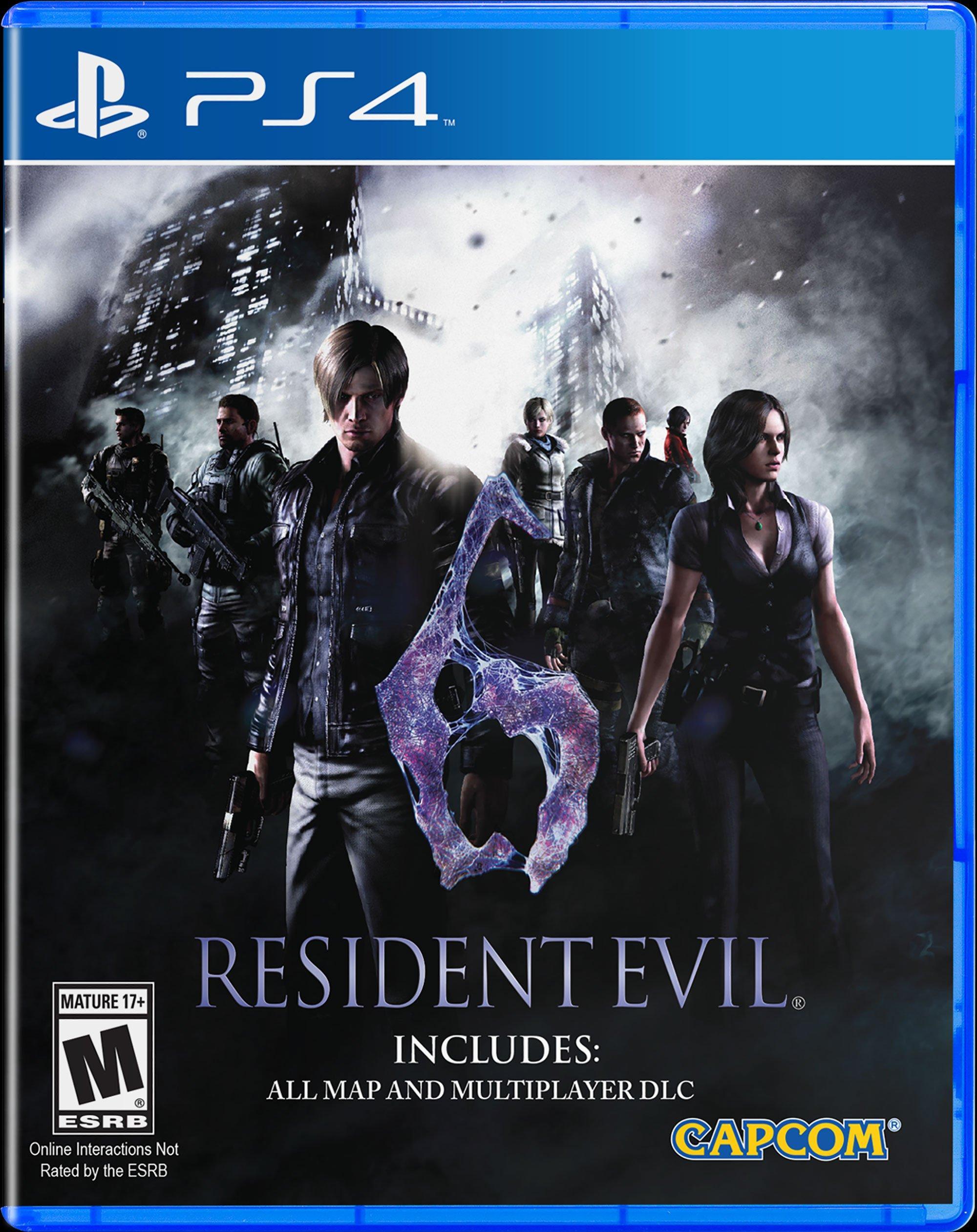 Resident Evil 6 Hd Playstation 4 Gamestop
