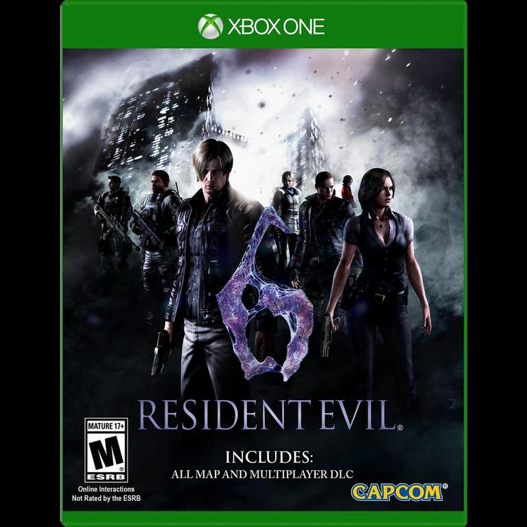 Resident Evil 6 Hd Xbox One Gamestop