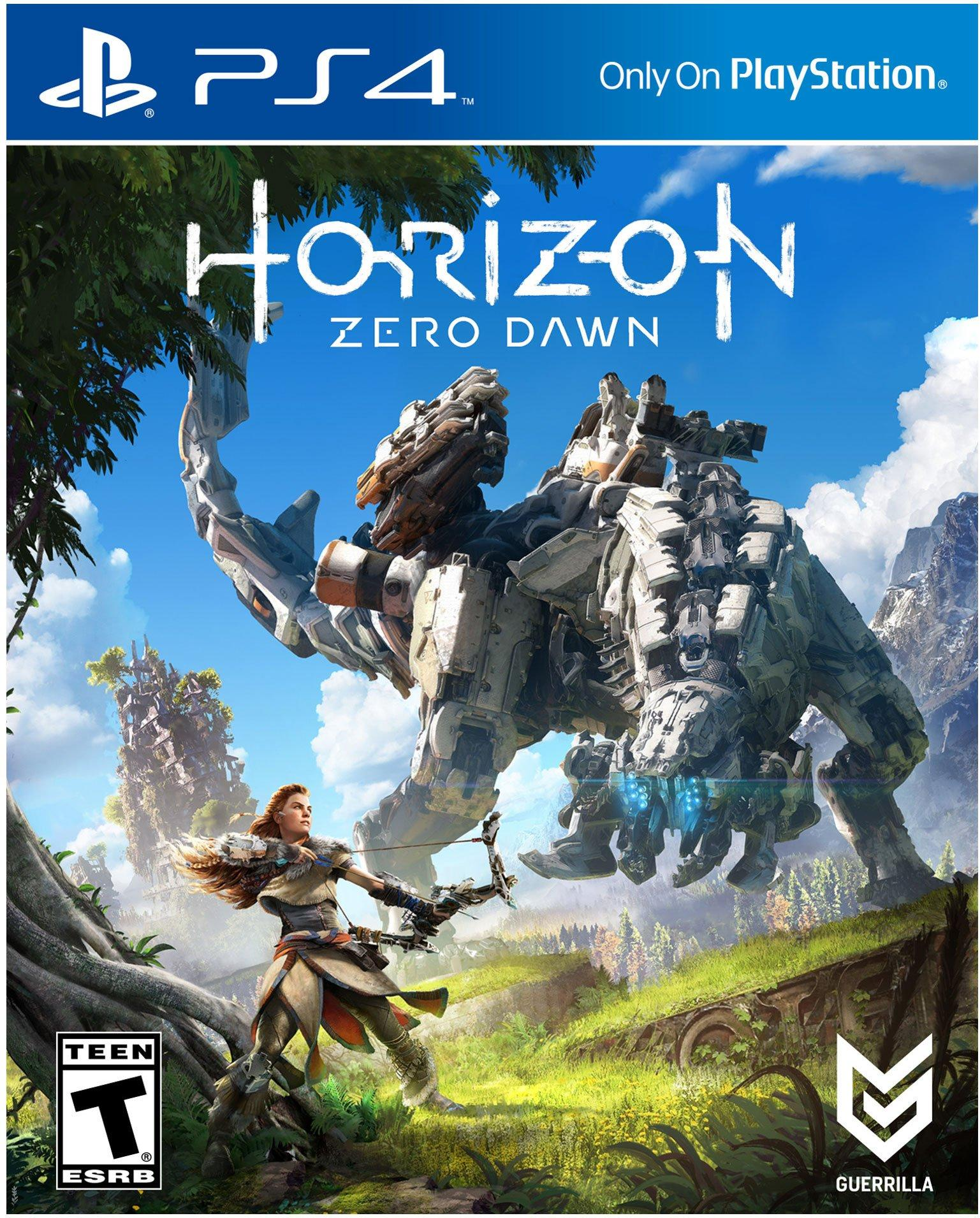 horizon zero dawn playstation 4 gamestop