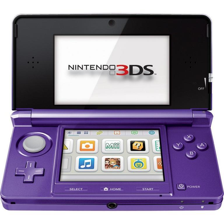 Nintendo 3DS Purple