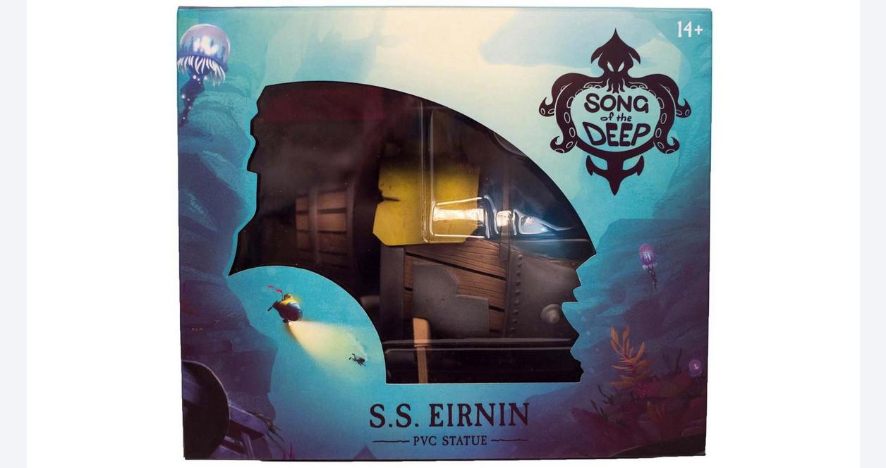 Song of the Deep S.S. Eirnin Statue