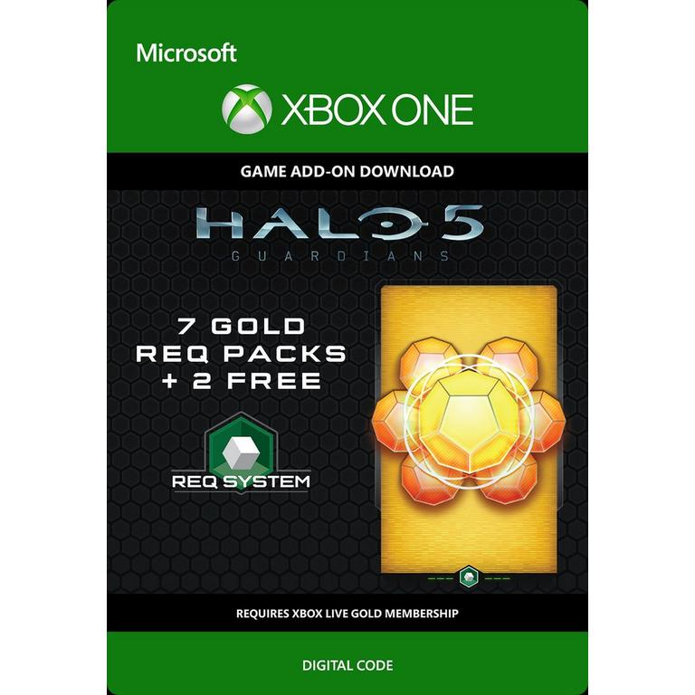 Halo 5: Guardians 7 Gold Req Packs and 2 Free