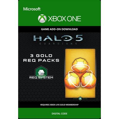 Halo 5: Guardians - 3 Gold Req Packs