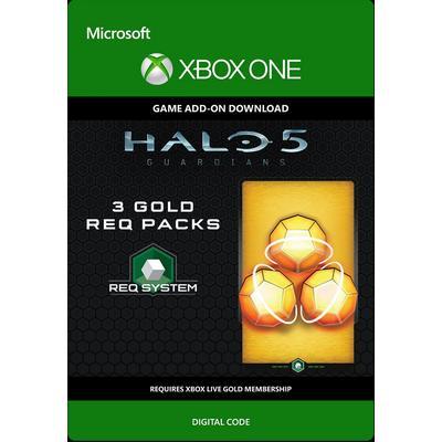 Halo 5: Guardians 3 Gold Req Packs