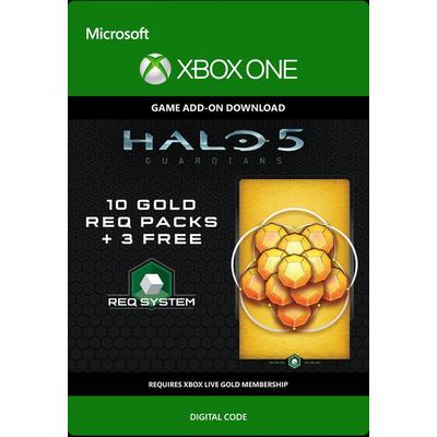 Halo 5: Guardians - 10 Gold Req Packs + 3 Free