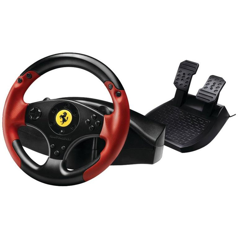 PS3 Red Legend Edition Ferrari Racing Wheel
