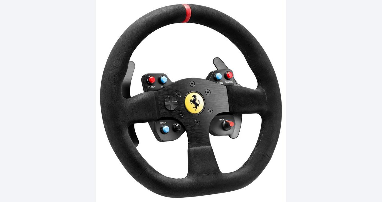 Alcantara Edition Ferrari 599X EVO Racing Wheel Attachment
