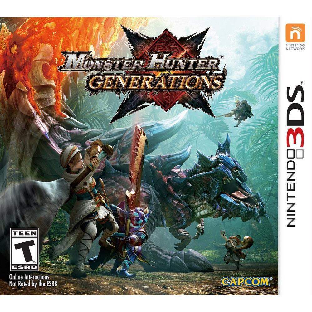 Monster Hunter Generations | Nintendo 3DS | GameStop