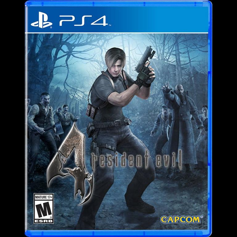Resident Evil 4 Hd Playstation 4 Gamestop