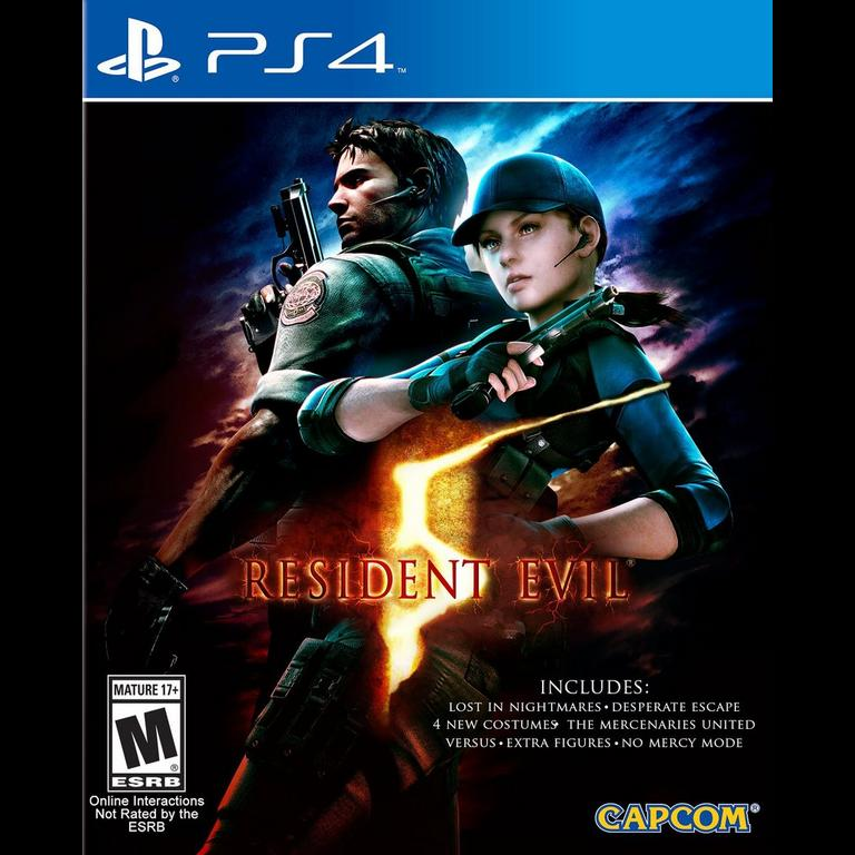Resident Evil 5 Hd Playstation 4 Gamestop