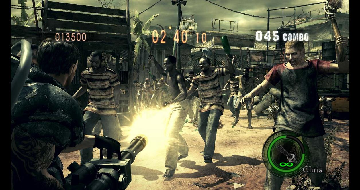 Resident Evil 5 Hd Playstation 4 Gamestop