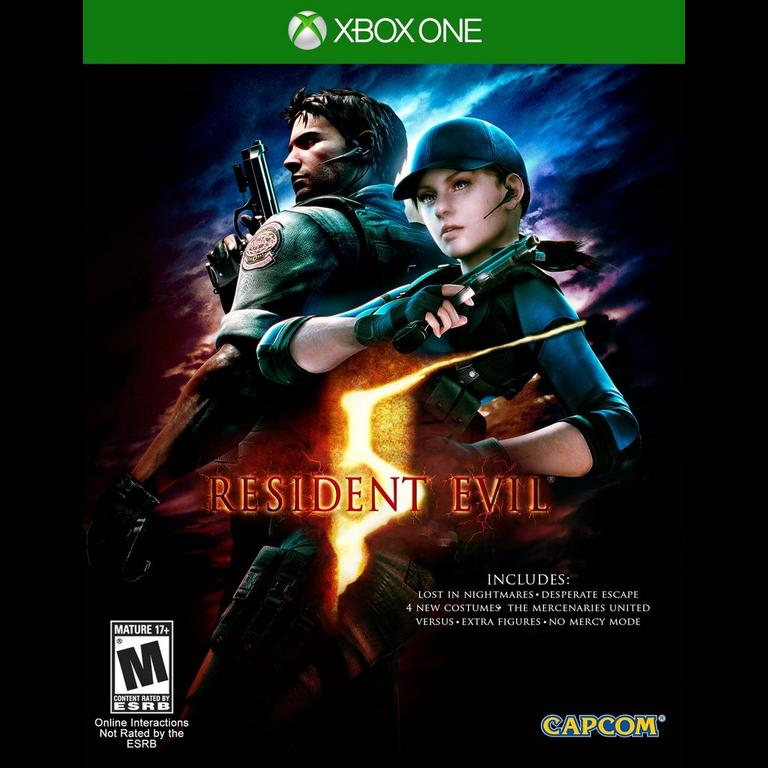 Resident Evil 5 Hd Xbox One Gamestop