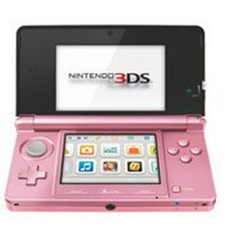 Nintendo 3DS System - Pearl Pink