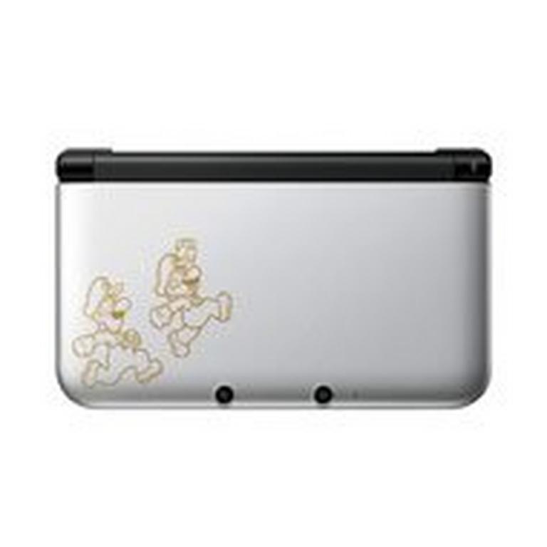 Nintendo 3DS XL Mario and Luigi Silver