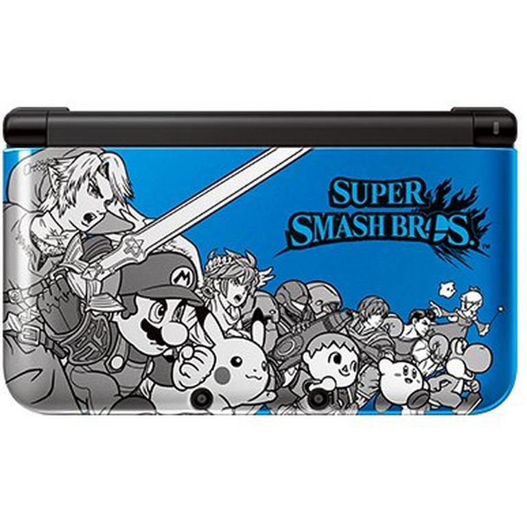 Nintendo 3DS XL System - Super Smash Bros Blue