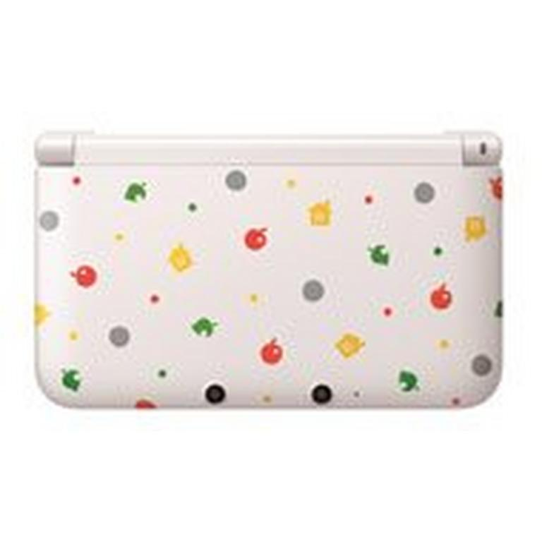 Nintendo 3DS XL System - White Animal Crossing