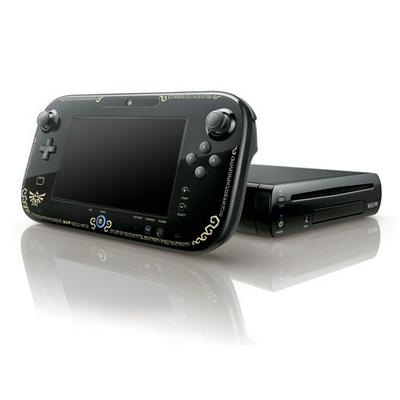 Nintendo Wii U 32GB Legend of Zelda System - Black