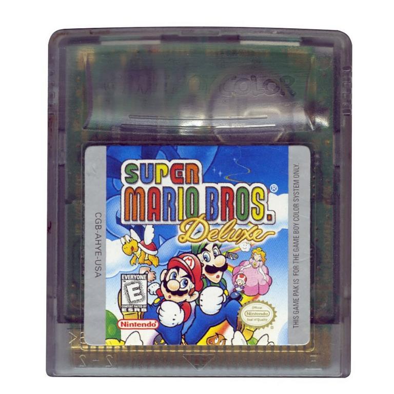 Super Mario Bros Deluxe Game Boy Gamestop