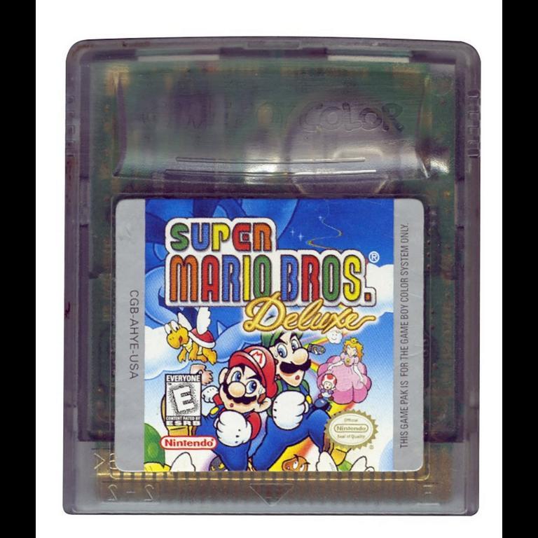 Super Mario Bros Deluxe Game Boy Color Gamestop