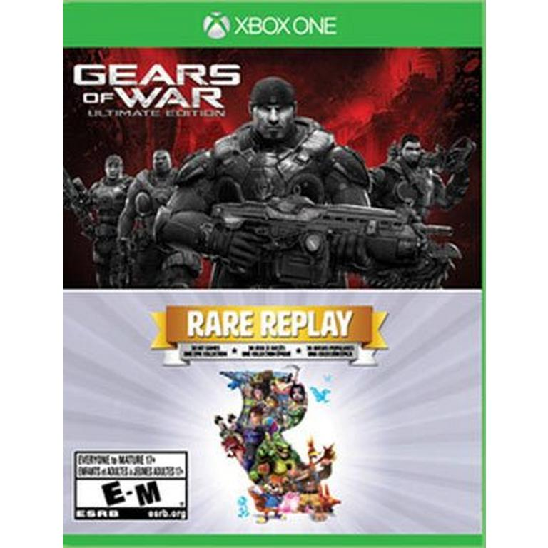 Gears of War Ultimate Edition and Rare Replay 2 Pack