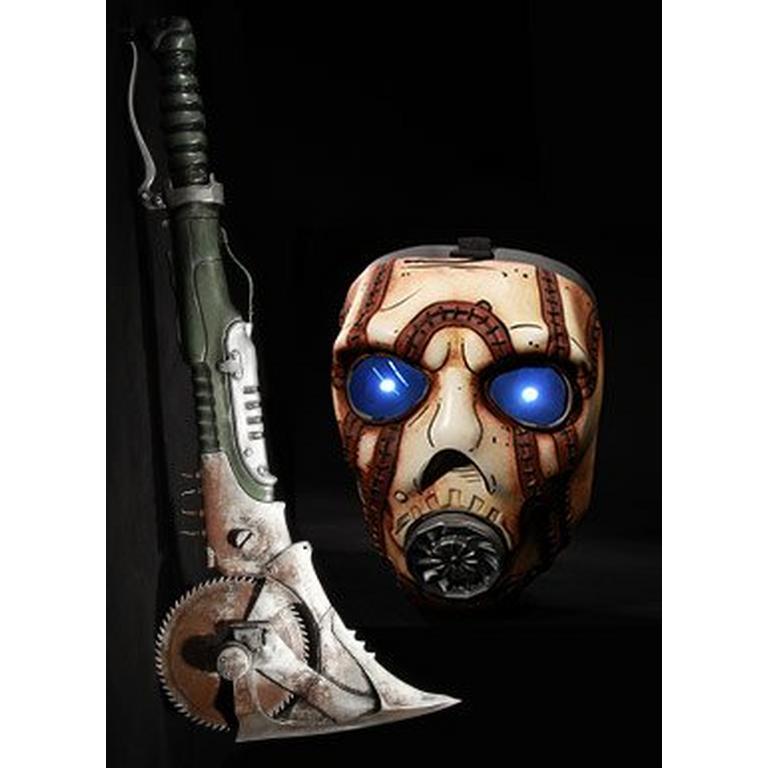 Borderlands 2 Pyscho Mask and Buzzaxe Set