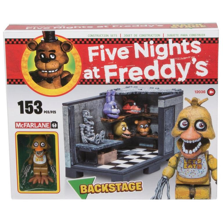 Five Nights at Freddy's Construction Set - Backstage