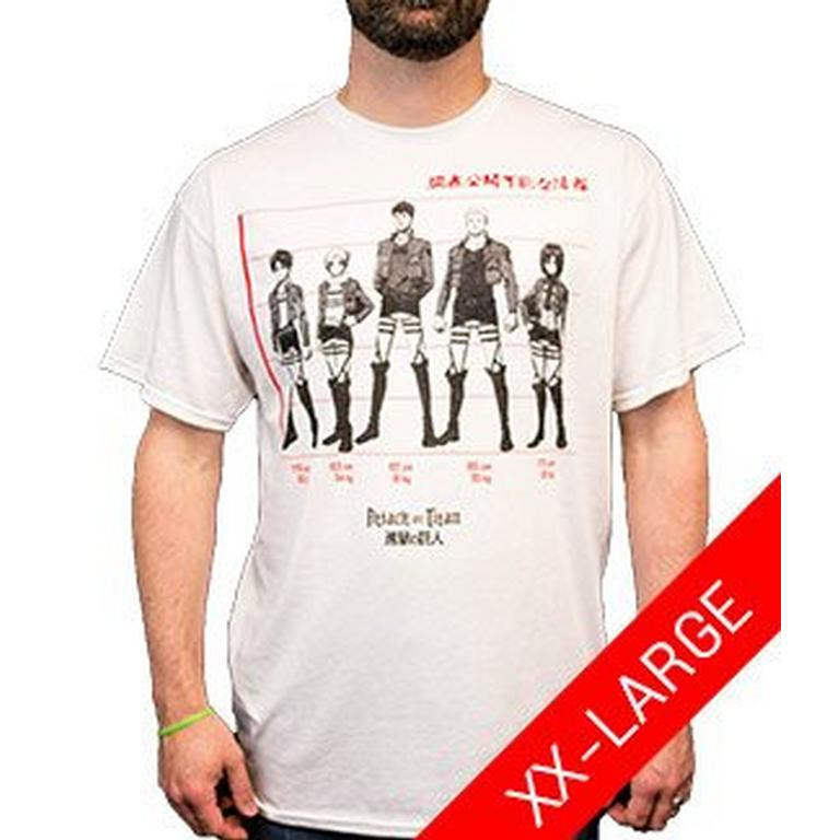 Attack on Titan Line Up T-Shirt