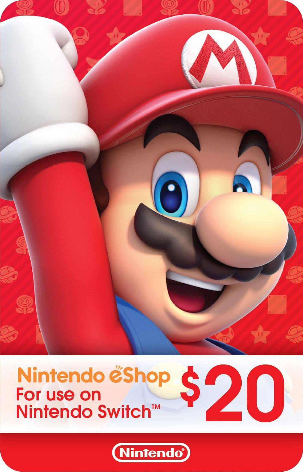 Nintendo eShop Digital Card $20 | <%Console%> | GameStop