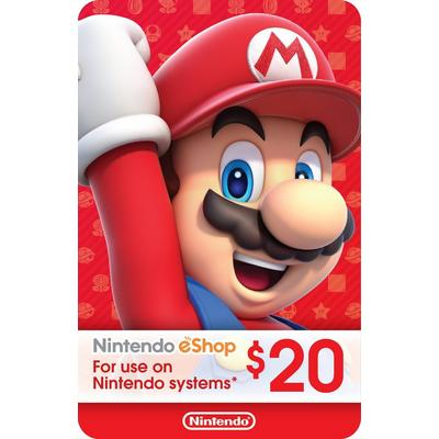 Nintendo eShop Digital Card $20