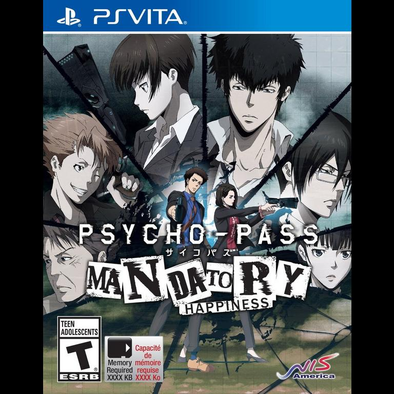 Psycho Pass: Mandatory Happiness