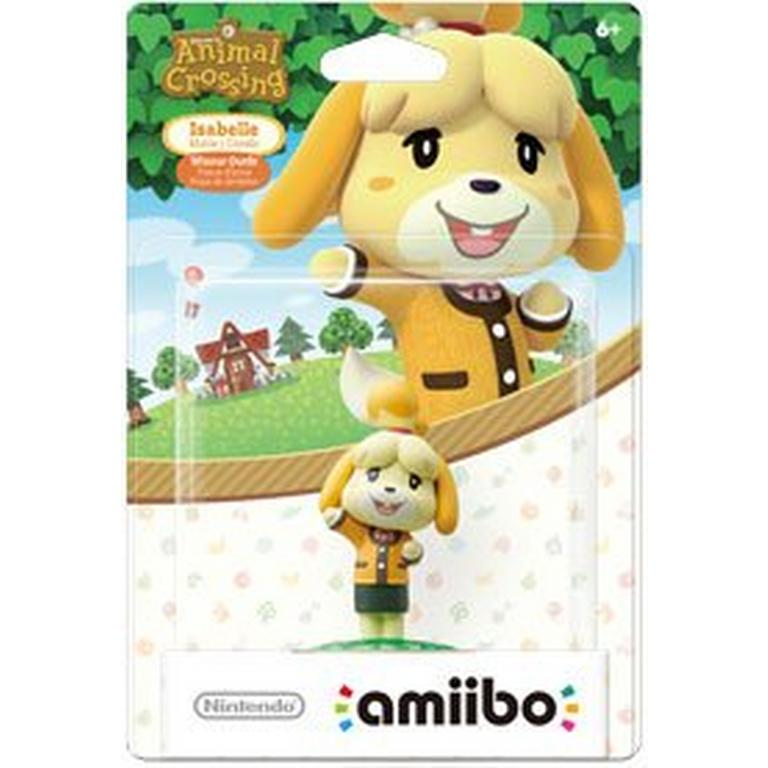 Animal Crossing Isabelle Winter Outfit amiibo Figure